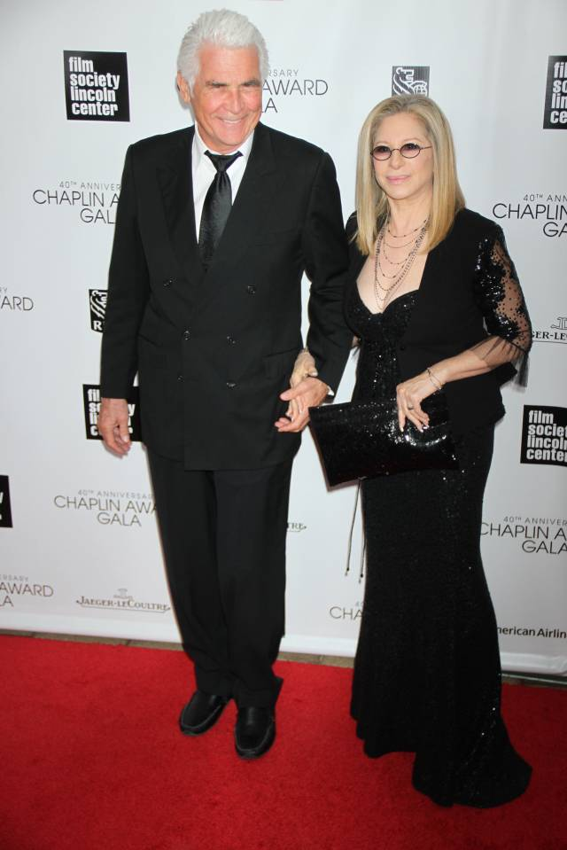 James Brolin and Barbara Streisand