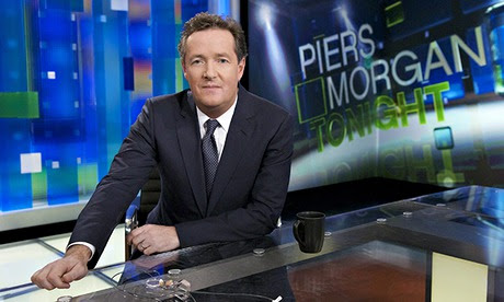 Piers Morgan tries to look on the bright side after CNN chat show axed