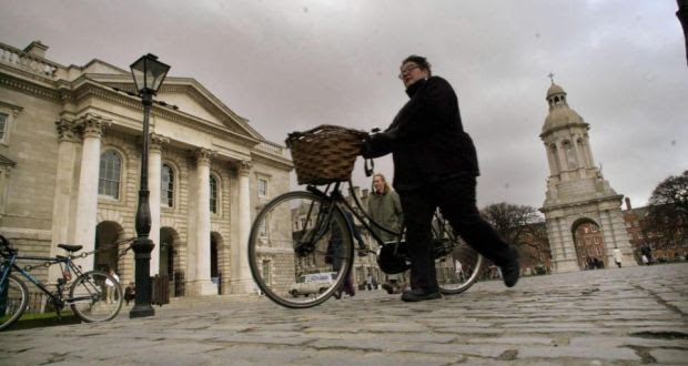 File image of Trinity College Dublin. Photograph: Dara Mac Donaill/The Irish Time